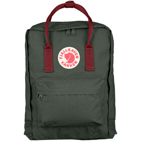 Fjällräven Kånken Mochila, forest green/ox red